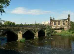 The Chantry Chapel and Wakefield Bridge...Did Edmund meet his end here?