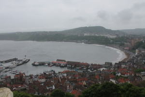 Scarborough and its harbour