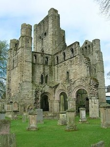 Kelso Abbey. The young king's coronation was held here. Photo Credit: Wikimedia User JThomas