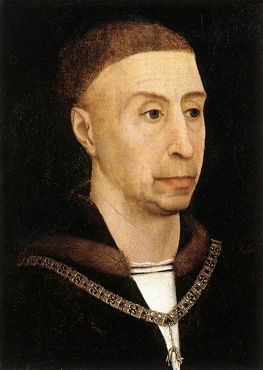 Duke Philip, Portrait by Rogier van der Weyden