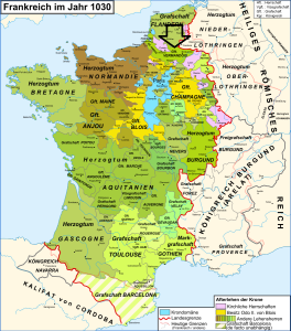 Vermandois region of France where Isabel was born. (Photo Credit: Wikimedia Commons)
