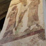 Medieval paintings inside Abbey