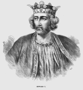Edward I- from Cassell's History of England Source: Wikimedia User Spider