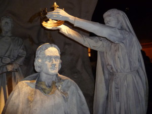 Isabel crowning Robert the Bruce Courtesy of: Martin York