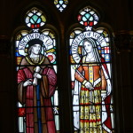 Elizabeth and Henry (stained glass from Cardiff Castle) Credit: Wolfgang Sauber